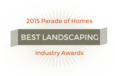 2015 Best lansdcaping - industry awards