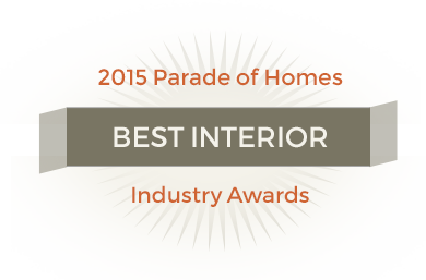 2015 Best interior - industry awards