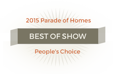 2015 Parade of Homes - Best of show
