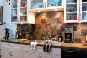 glass doors kitchen cabinets