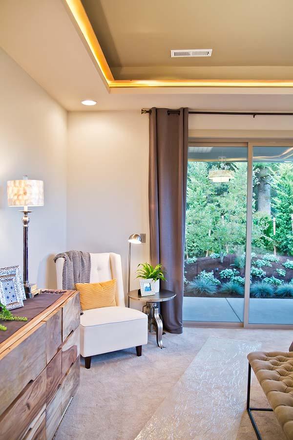 sitting room by custom home builder Battle Ground WA