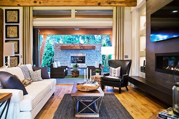 Living Room Scene Home Builder Washougal WA