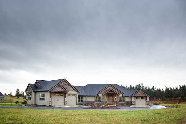 home from homebuilder Kelso WA