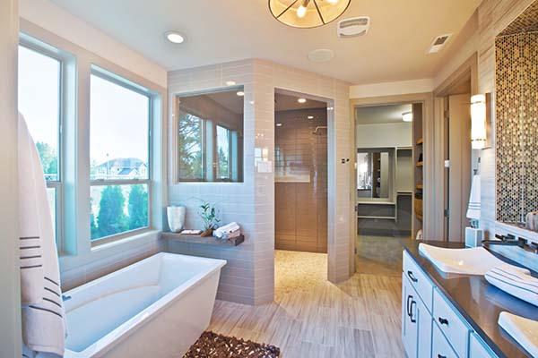 Bathroom in Custom Homes La Center WA